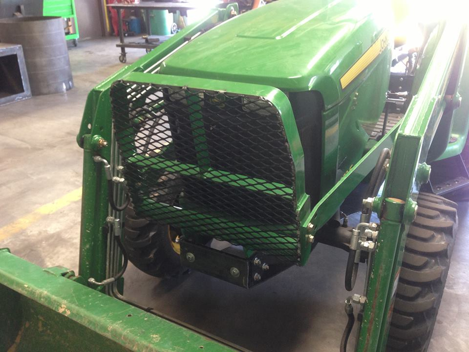 Tractor Grill Guard For Trailer : Metal fabrication customer welding east texas
